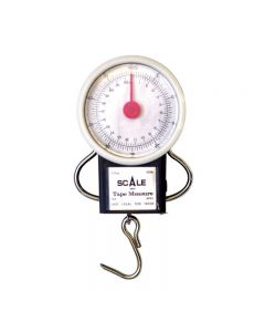Eagle Claw Dial Scale with Tape Measure 50 Lb - 04070-003