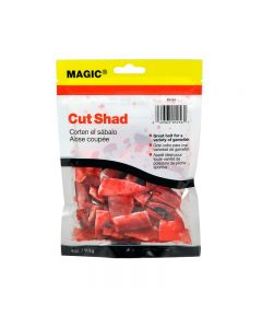 Magic Products Preserved Cut Shad 4 oz Red Pouch-Ketch More Fish - 5256