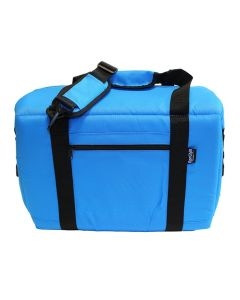 NorChill 12 Can Soft Sided Hot/Cold Cooler Bag - Blue Nor-Chill-9000.41
