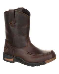 Georgia Athens Little Kids' Pull-On Boot Brown GB00232C