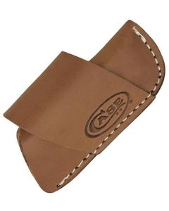 """Case Cutlery Brown Leather Side-Draw Belt Sheath for 3"""" Folding Knives CA50148"""