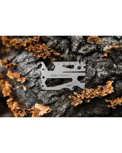 CHA/O/HA Cyclist Card Standard Stainless Construction Key Ring Multi Tool A03