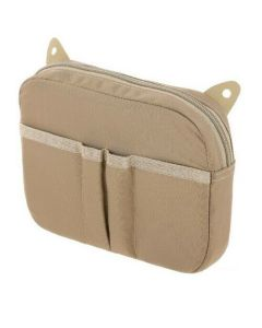 Maxpedition Tan Advanced Gear Research Hook & Loop Pocket Pouch Case Maxpedition-HLPTAN